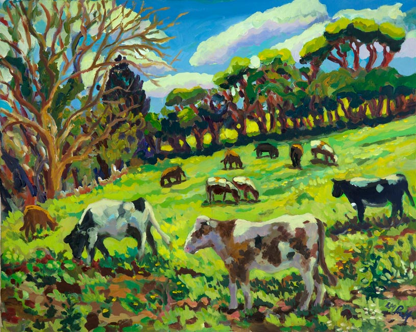 Off Crofts Lane - Beef Herd - Lucy Pratt