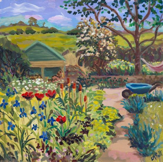 Blue barrow - Lucy Pratt