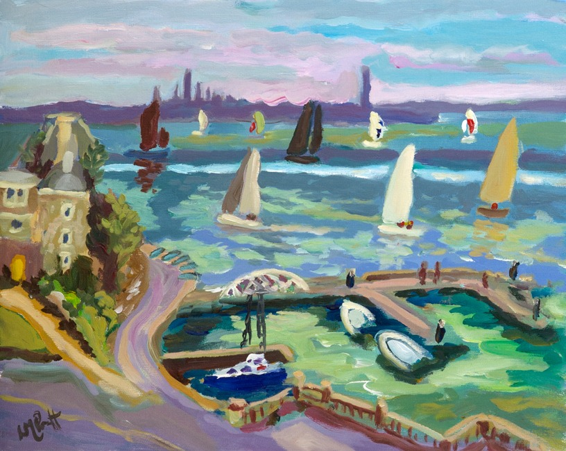 View from Yacht Club - Lucy Pratt