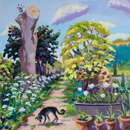 Dudley and Cow Parsley - Lucy Pratt