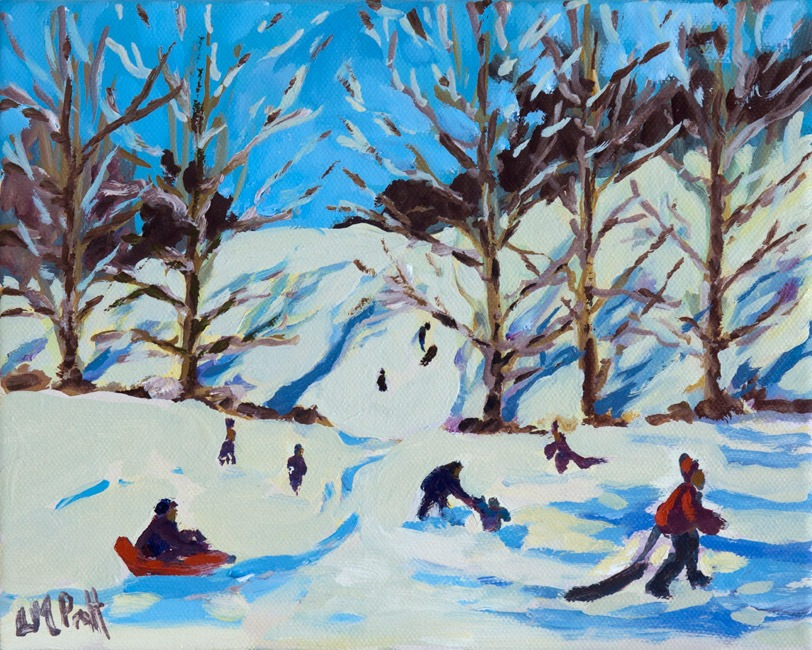 Perfect for a Sledge - Lucy Pratt