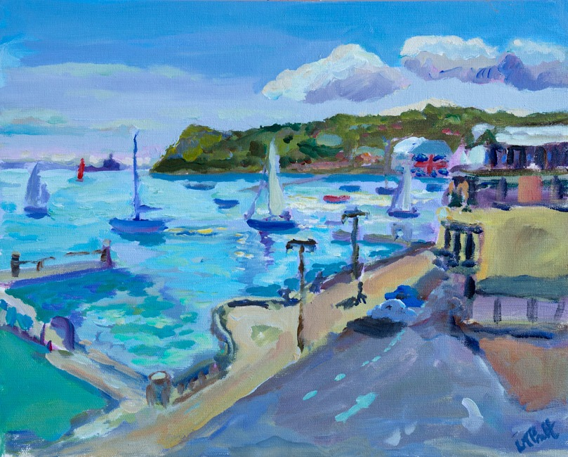 Easterly View, Cowes - Lucy Pratt