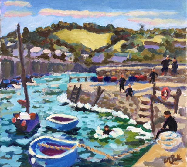 Diving days, coverack - Lucy Pratt