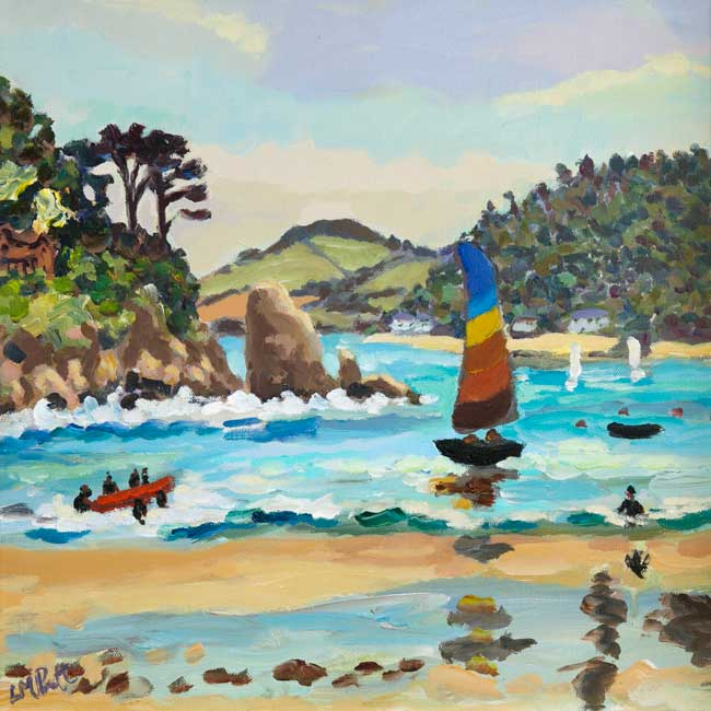 Stripey Sails - Lucy Pratt