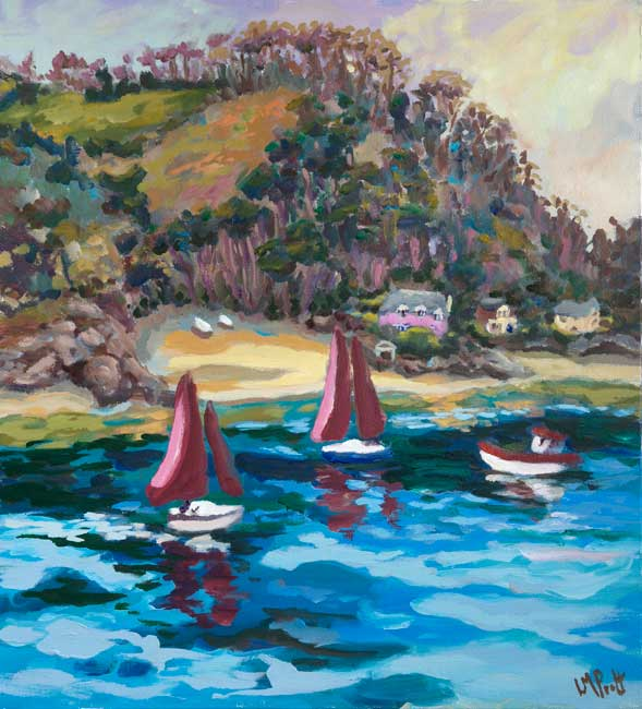2 Red Sails - Lucy Pratt