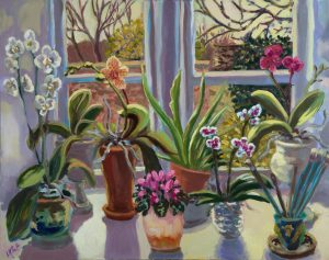 Kitchen Orchids - Lucy Pratt