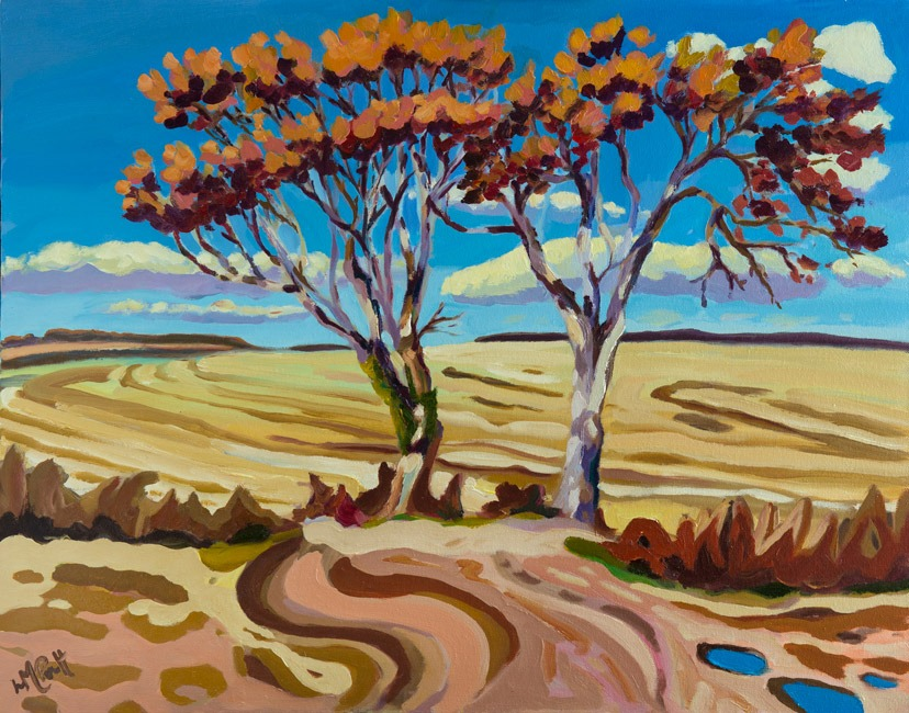 Trees and Harvest, Salcombe - Lucy Pratt