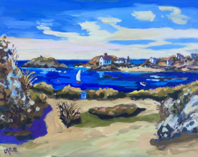 Sail and Life boat house, Rhoscolyn - Lucy Pratt