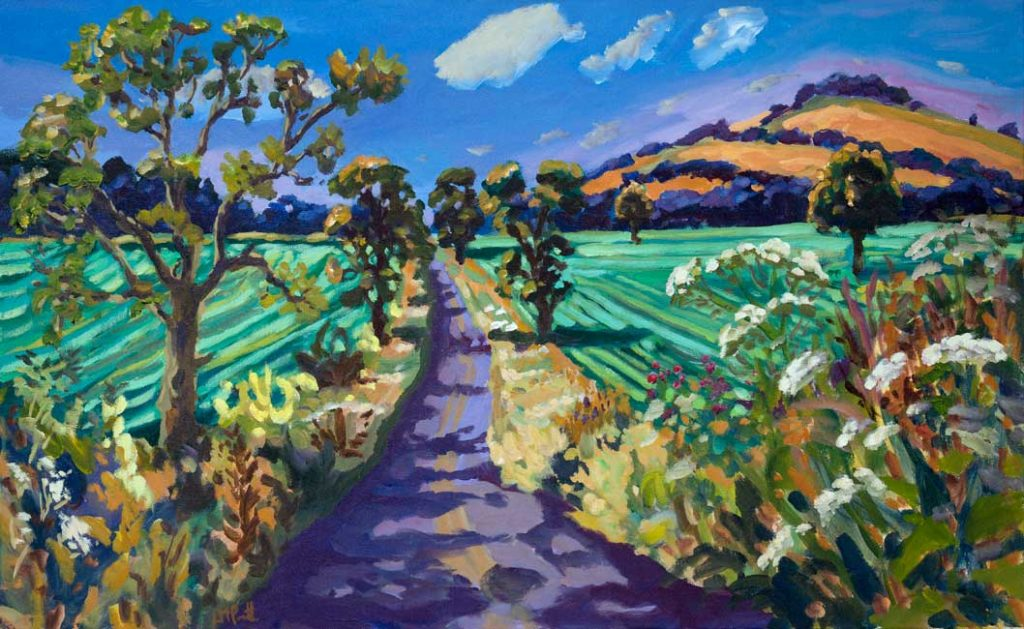 Road Ahead, Evening - Lucy Pratt