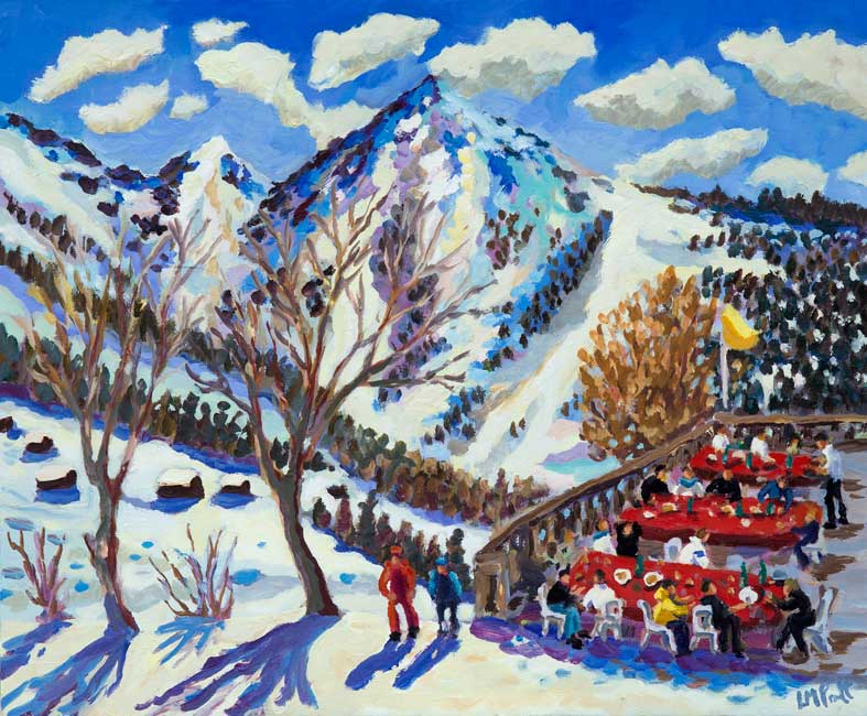 Lunch After the Black Run - Lucy Pratt