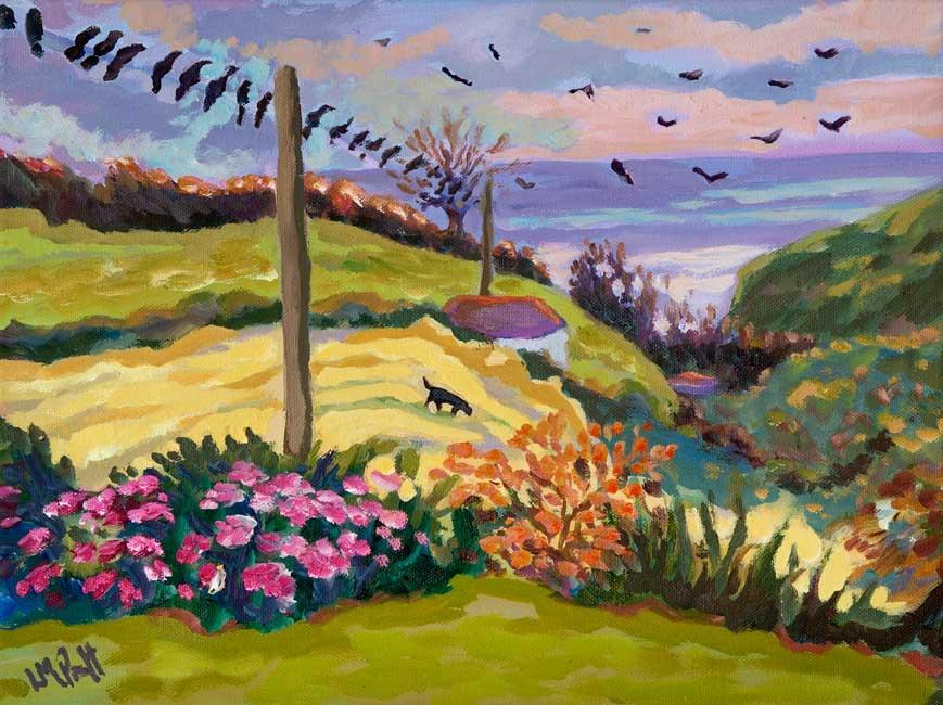 Rooks at Dusk - Lucy Pratt