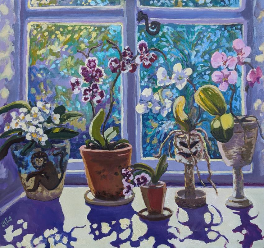 Lucy Pratt - Tranquil Orchids